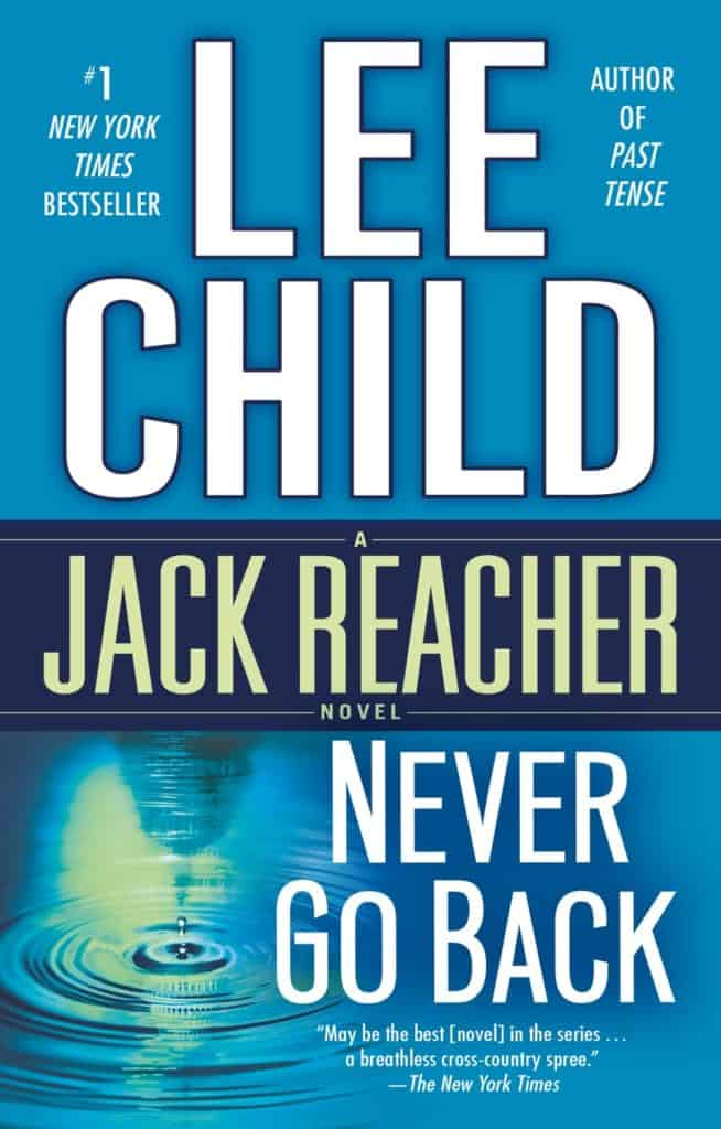 Never Go back | Jack Reacher